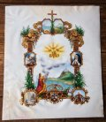 羊皮紙に描かれた宗教画