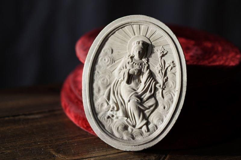 画像1: 聖母マリアのメダイヨン