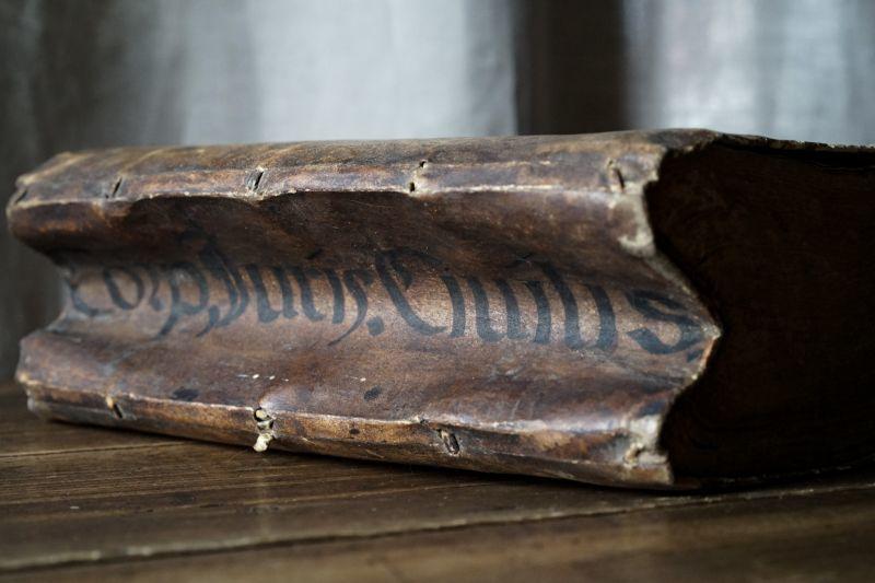 羊皮紙表紙本 1628年 『ローマ法大全』